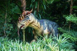 singapore zoo dinosaur