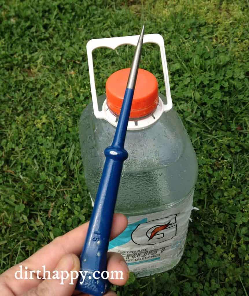 diy watering jug