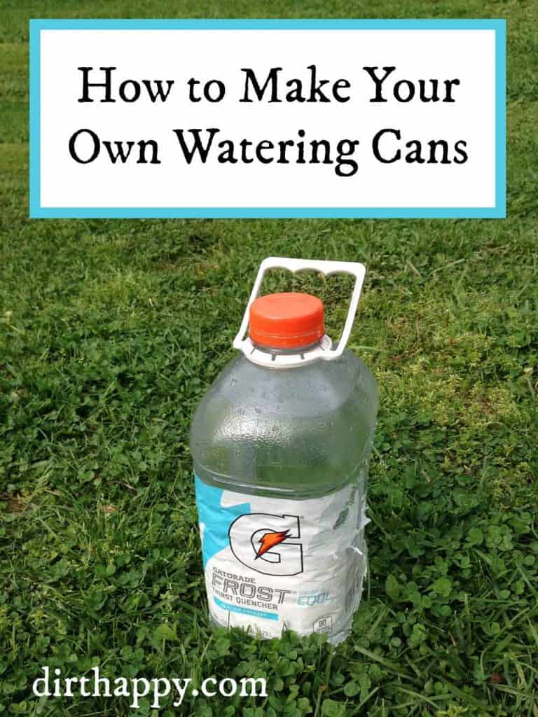 make your own watering cans