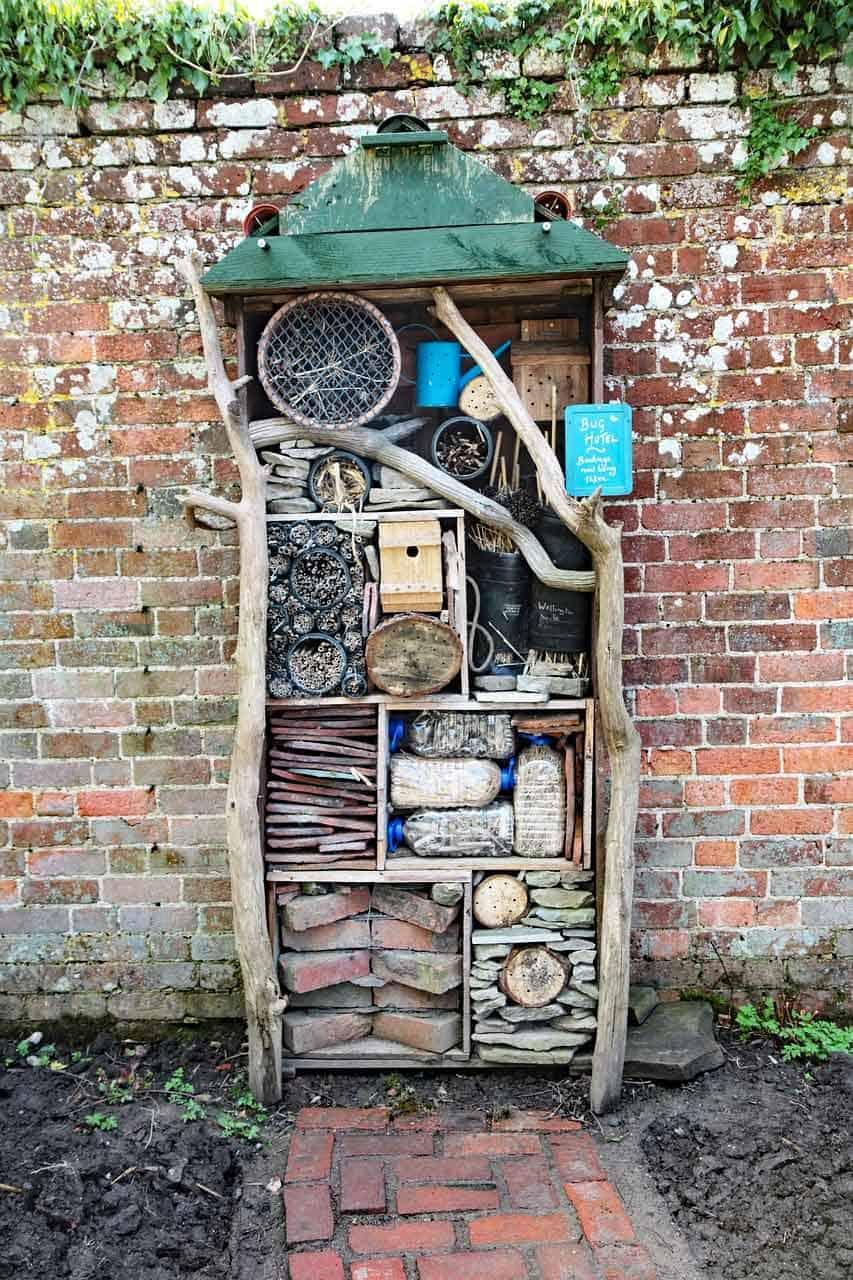 brick wall construction garden ideas