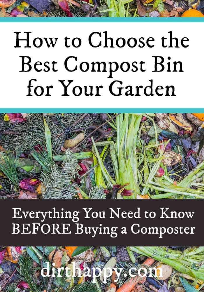how to choose a compost bin
