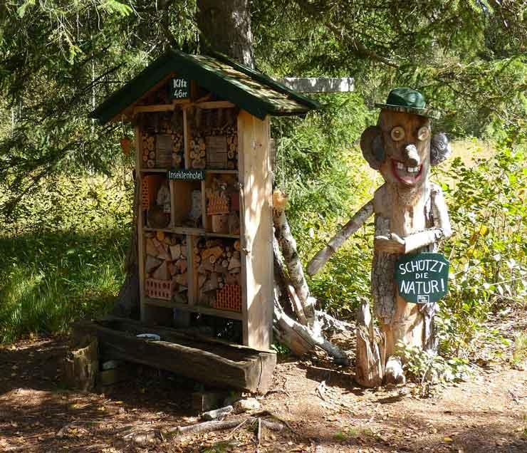 creative sculpture nature conservation